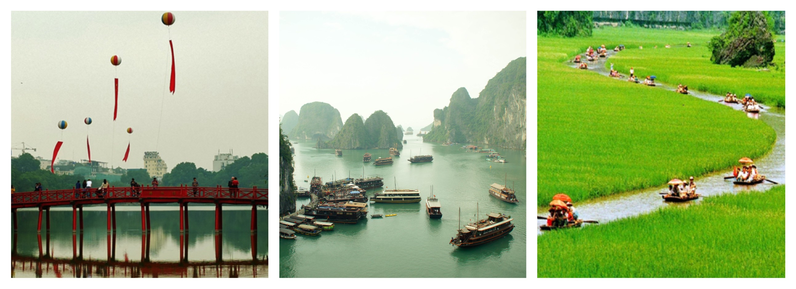 Hanoi - Halong Bay - Tamcoc