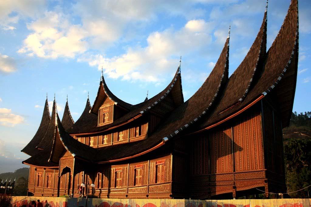 Rumah Gadang Istana Pagaruyung - Sumtra Barat