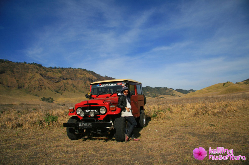 rental jeep in Bromo