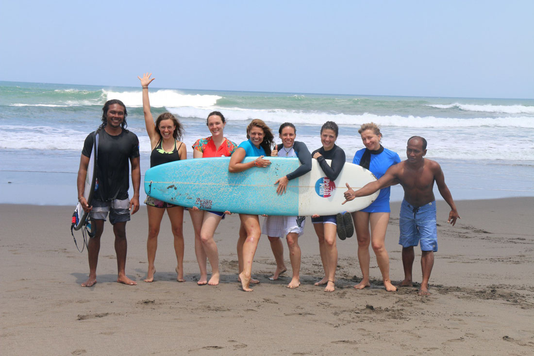 Canggu surf fun
