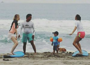 Surf lesson in Canggu