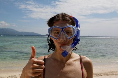 Enjoyed snorkelling in Gili islands 400x267 A Guide to Know Before Doing Fun Dives in Kuta Lombok