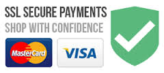 VISA Mastercard Secure payment Contact Us