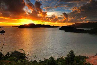 Mandeh islands landscape