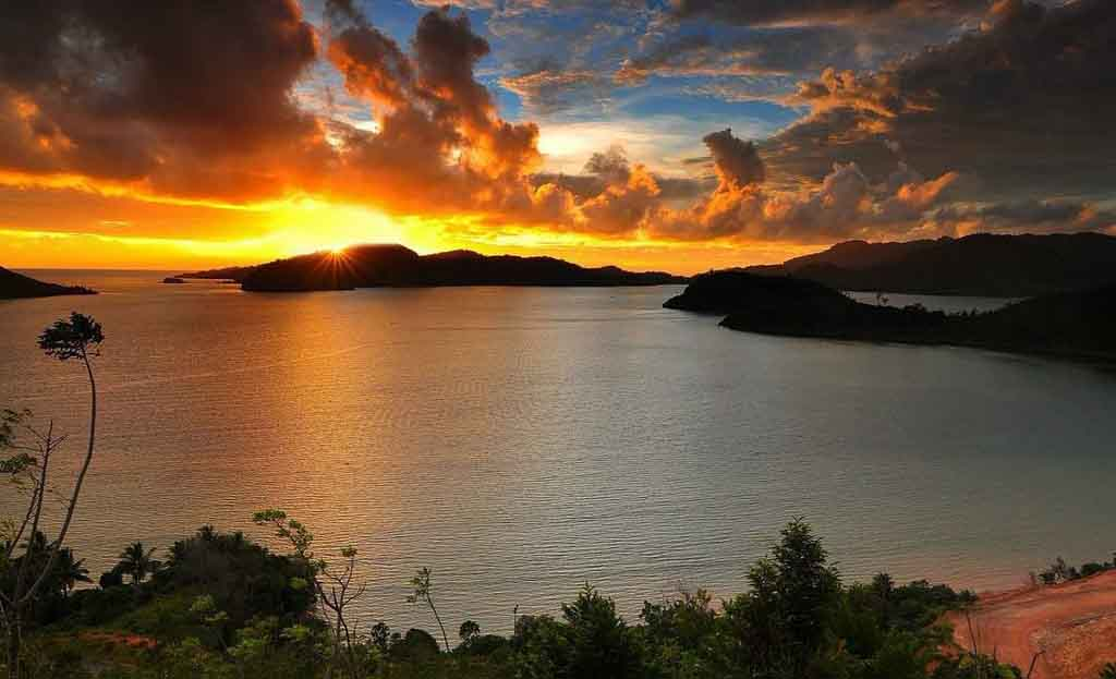 Mandeh islands landscape