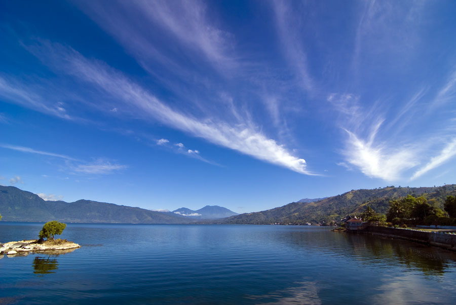 Singakarak lake - West Sumatera