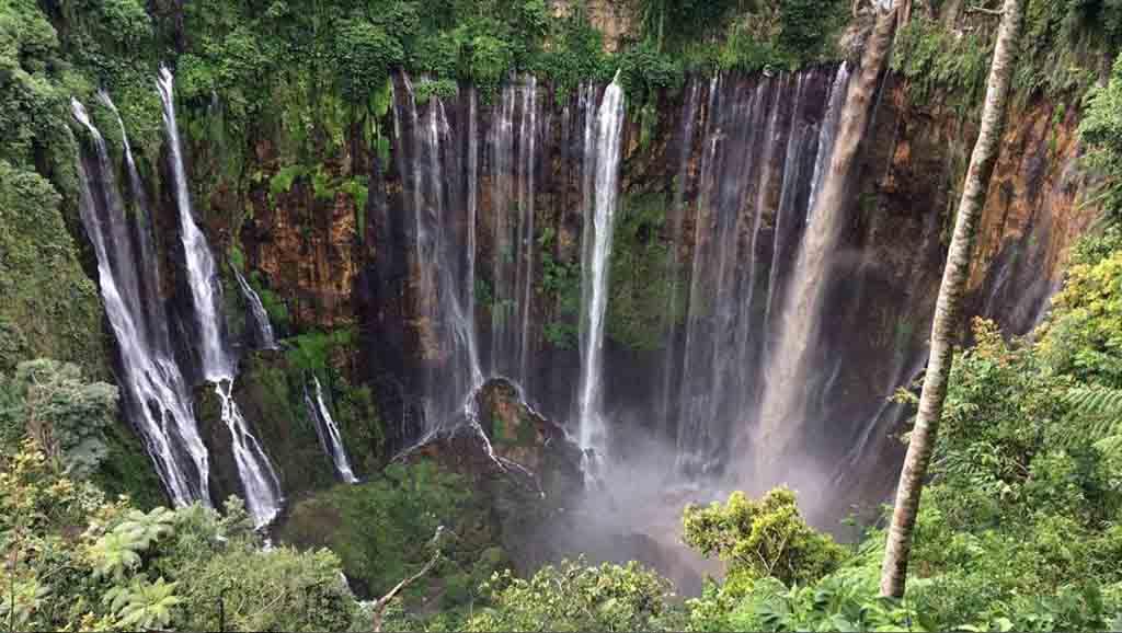 Day Tour Tumpak Sewu Waterfall Start From Malang Keliling Nusantara