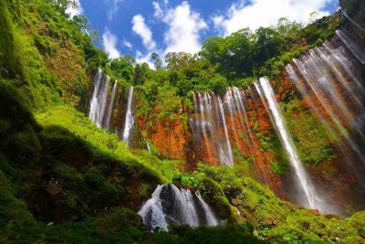 Tumpak Sewu waterfall Lumajang 400x267 Bali Surfing Lesson   Life Style   Fair Price Tripadvisor n AirBnB