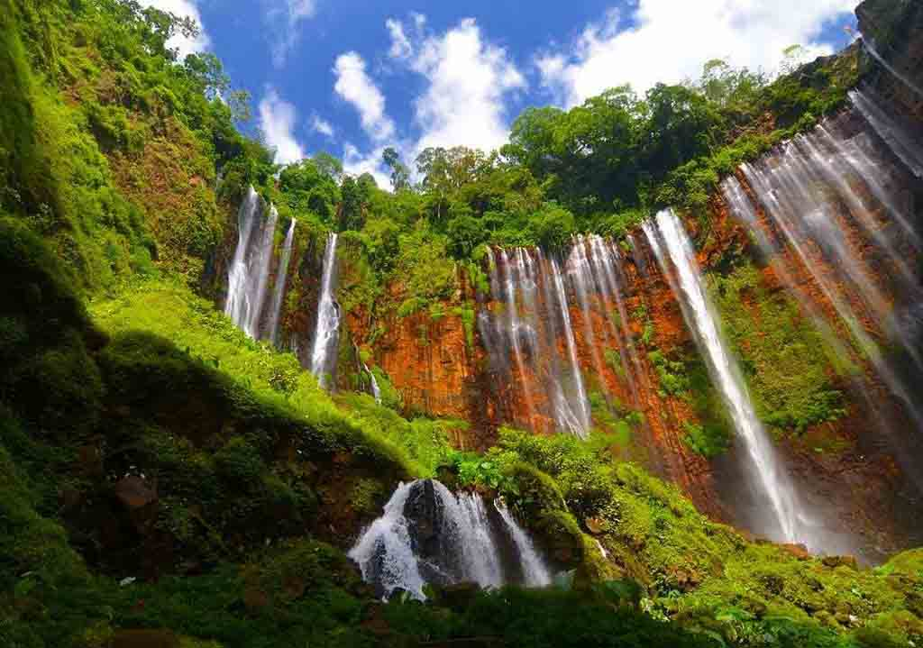 Tumpak Sewu waterfall - Lumajang