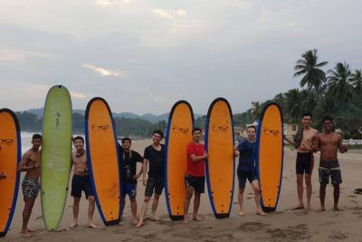 %name Group Surf Lesson for School, Clubs and Corporate
